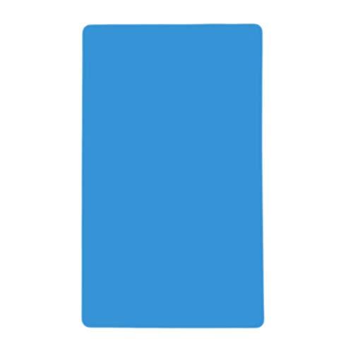 Erduo Silikon-Matten Backliner Beste Silikon-Ofen-Matten-Wärmedämmungs-Auflage-Backformen-Kind-Tabellen-Matten-einfache Lagerung hitzebeständig - blau -