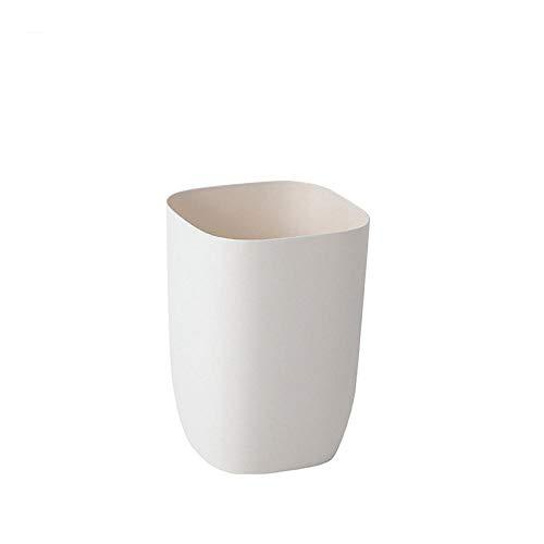 LYEXO Papierkorb Mülleimer Für Schlafzimmer, Badezimmer, Büros Oder Zu Hause 2Pcs @ D