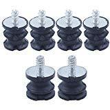 Haishine 6Pcs Isolater Buffer Mounts Set fit Husqvarna 268 272 61 266 JONSERED 625 630 670 Piezas de Motosierra