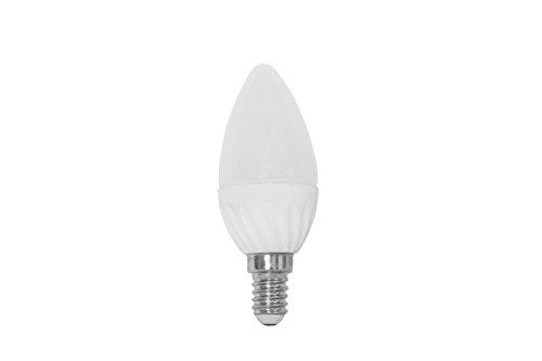 NT Light LED-Lampe Kerze, 1,6 W, ersetzt 15 W (15-25 W), E14 Sockel, 2900 K, 130 Lumen, warmweiß 101010 - 2900k Lampe