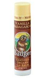 Badger Balm Vanilla Madagascar Lip Balm 4.2g