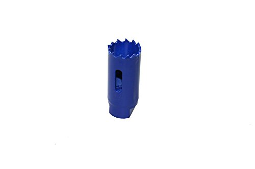 Irwin 10504169 Lame de scie Cloche-diametre 25mm, Bleu