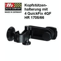 HR 1705/66 Universal Kopfstützen-Befestigungssystem Headrest Mount mit 4 Quick-Fix System 4QF -