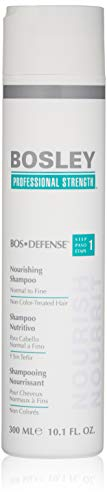 Bosley Defense Nourishing Shampoo for non-color Treated Hair PROFESSIONNEL Shampooing 300 ml - champues (professionnelle, Shampooing, 300 ml)