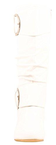 Elara, Bottes Pour Femmes Kaki Kaki 36 Blanc