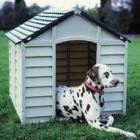 Large Strong Durable Plastic Dog Cats Pets Kennel / Winter House from KD & JAY
