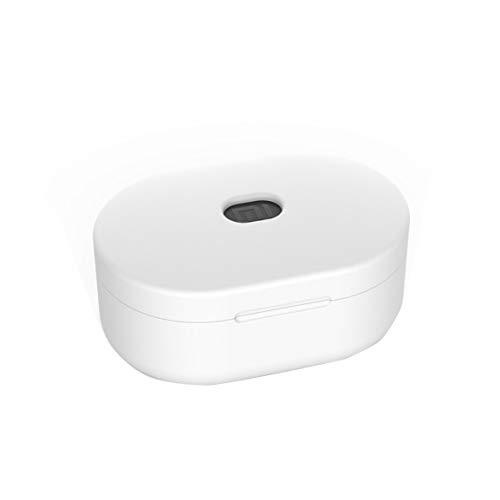 Custodia protettiva in silicone Custodia protettiva per Xiaomi Airdots Auricolare Bluetooth Versione per giovani Cuffie protettive (Colore: bianco)