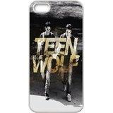 Bloomingbluerose Teen Wolf iPhone 5/5S Coque Dylan (montants) Tyler (Scott) Teen Wolf Bon Marché pour garçons, Cute iPhone 5S Cases pour filles Bon Marché pour garçons [Blanc], Coques iphone