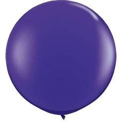 Preisvergleich Produktbild Koyal Wholesale Round Latex Giant Balloon ,  3',  Purple by Koyal Wholesale