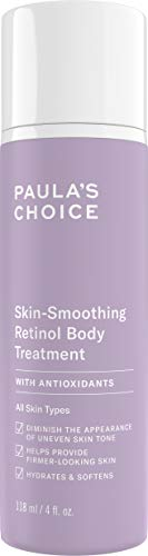 Paula's Choice Anti Aging Retinol Bodylotion | Körperlotion mit Shea Butter Pflegt Sehr Trockene Haut & Reduziert Falten | Für Alle Hauttypen | 118 ml - 100% Raw Shea Butter