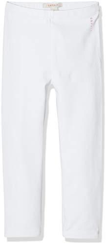 ESPRIT KIDS Baby-Mädchen Leggings, Weiß (White 010), Herstellergröße: 92 -