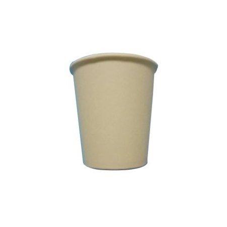 White Paper Cups (Becher für Kaffee 'CL10aus Papier weiß für Geniesser Becher Caffe' Espresso Paper Cup Coffee and Hot Drinks White PZ 400)