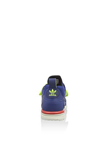 adidas Uomo Scarpe da Ginnastica Multicolore (Azul marino / Lima / Blanco)