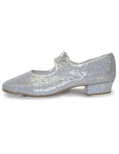 Roch Valley 'LHPH' Hologram Tap Shoes (Argento)
