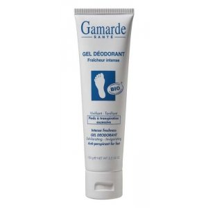 Gamarde Gel déodorant fraicheur intense pieds tube 100g