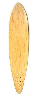 Blank Longboard Deck nature - Skateboard Profi Longboard USA