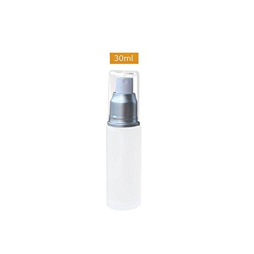 Leere Frosted Glass Spray Flasche Zerstäuber Wiederverwendung Travel Dispenser 30/50/100ml 30ML