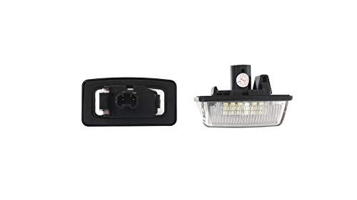 LED Kennzeichenbeleuchtung Mit E-Prüfzeichen - RUSEDUS® (Corolla Nummernschild 2010)