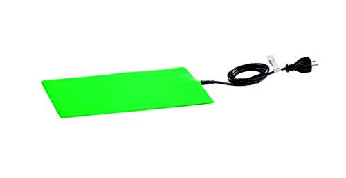 Romberg Heizmatte M (Maße 35x25 cm, 17,5 Watt, für Pflanzen und Terrarien, schutzisoliert, säurebeständig) 12093105, grün