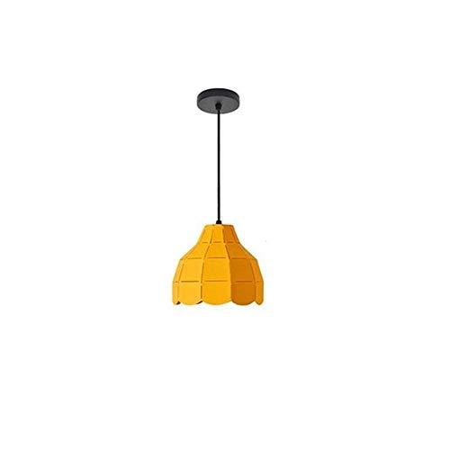 WASS6 Kreative Macaron Kronleuchter for Wohnzimmer Gelb Hängende Lampenschirme Trommel for Esszimmer Moderne Mini Pendelleuchten Kücheninsel Einstellbare Eisen Kunst Kronleuchter Glühbirnen 120 v 40 W -