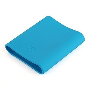 Mstick Soft Silicone Protector Case Cover for Xiaomi Mi 10400 mAh Power Bank ( Powerbank Not Included ) - Blue  available at amazon for Rs.299