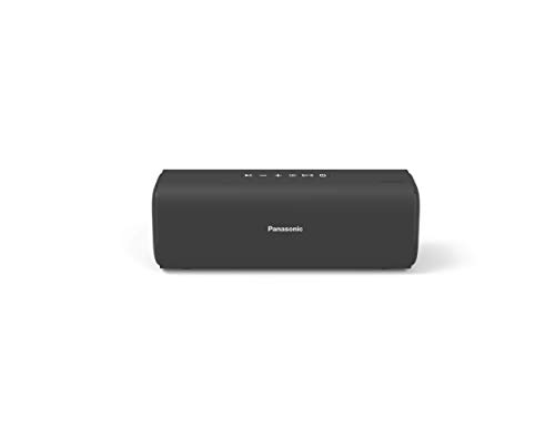 Panasonic Portable Wireless Bluetooth Speaker with 2 Powerful 50mm Driver Unit, 10W Stereo Sound and up-to 8 Hours Playback (SC-NA07GW-H)