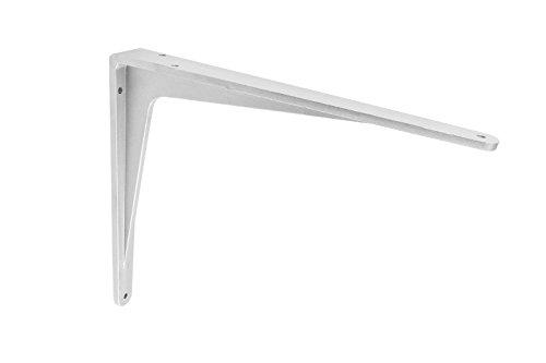 Gedotec Schwerlast-Konsole Aluminium Regalträger Winkel-Konsole - Sparta | 290 x 240 x 38 mm | Schwerlastträger Tragkraft 240 kg | Regalhalter Alu massiv | 1 Stück - Regalkonsole für die Wandmontage