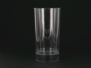 10 verres Long-drink jetables plastique 20 cl