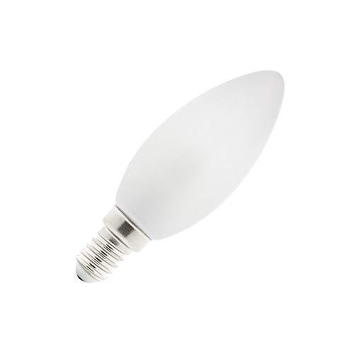 Bombilla LED E14 C35 Vela Glass 4W Blanco Frío 6000K-6500K
