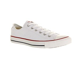 Converse S Ox, Chaussures Basses Mixte Adulte Blanc (Blanc Optical)