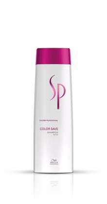 Wella SP System Professional Color Save Haarshampoo, 30 ml -