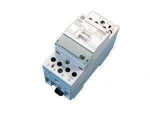 general-electric-contacteur-jour-nuit-modulaire-4f-24a-bobine-230-vca