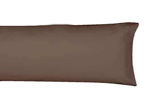 MI CASA F.Almohada Basic 135 Marron Funda de Almohada, 135cm