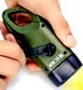 MECO LED Flashlight Hand Cranking & Sola...
