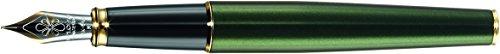 Diplomat D20000944 Füllfederhalter Excellence A Evergreen vergoldet, M 14 kt Goldfeder...