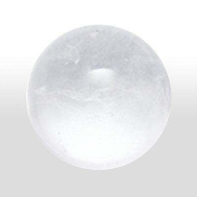 Pierre Précieuse Boules de Cristal de Roche 2St.