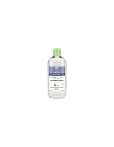 JONZAC - PURE - Acqua micellare purificante per Viso e Occhi - a base di Acqua termale di Jonzac - indicata per pelle mista e grassa - elimina impurità e make up - Senza alcol - Biologica - 500 ml