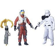 Play Set STAR WARS EPISODE 7 - TWIN PACK FIGURINES FIRST ORDER SNOWTROOPER OFFICER
