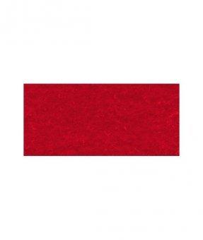 Bastelfilz / Filzplatten 4mm dick / 30x40cm – Stück rot, rot