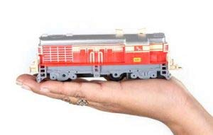 Centy Toys Indian Passenger Train With Coaches & Railway Track (Multicolor, 19 Pieces)