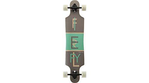 FIREFLY Longboard Freeride 2.5, grau/grün/holz -