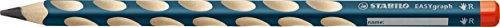 nt-Bleistift - STABILO EASYgraph in petrol - Härtegrad HB - 6er Pack - für Rechtshänder (Kinder Graph)