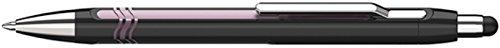 Schneider Epsilon Touch Druckkugelschreiber (Strichstärke XB, dokumentenechte Mine- Schreibfarbe: blau, inkl. Touchpen, Made in Germany) Schaftfarbe: schwarz-pink