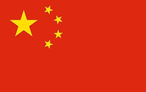 Bandiera Cina cm 90 x 150 in tessuto