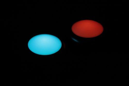 ANSMANN Aqualight LED-Unterwasserleuchte - Beleuchtung für Pool Badewanne Wellness Teich Party - Stimmungslicht wasserfest schwimmfähig (2er Pack) - 3