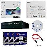 ASUS BW-16D1HT 16X Blu-ray CD DVD Internal Burner Drive Retail Box + Free