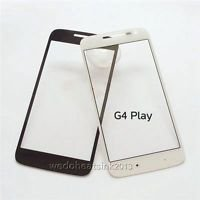 Front Lcd Touch Screen Glass Lens For Motorola Moto G4 Play black