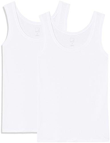 MERAKI Women's Round Neck Vest, Pack of 2