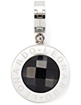 Leonardo Jewels Damen Anhänger Darlin's Matrix schwarz Edelstahl Glas   013951