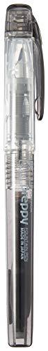 Platinum - Pluma estilográfica, prepájaro, punta fina, color negro (1716012.0)